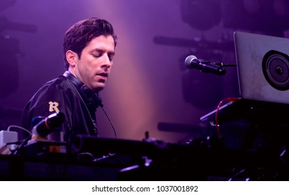 Camp Bestival - 28th July, 2017: British DJ and producer Mark Ronson performing at Camp Bestival, Lulworth, Dorset 28 July 2017, UK