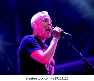 Camp Bestival - July 31 2016: Curt Smith vocalist and guitarist with British New Wave band Tears for Fears performing at Camp Bestival, Lulworth, Dorset, July 31st 2016 in Dorset, UK