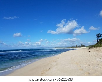 Camp Harold Erdman Beach is located on the north shore at the far west end of O'ahu.