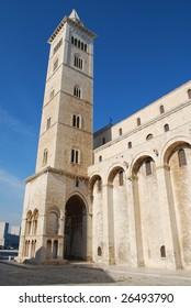 Campanile (Bell Tower), Cattedrale di S. Nicola Pellegrino (Trani Cathedral), Trani, Apulia, Italy