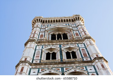 Campanile of Giotto.  Florence, Italy