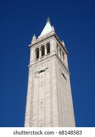 The Campanile also know as the Sather Tower at University of California, Berkeley