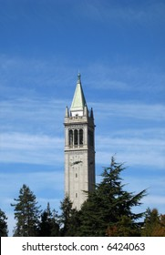 Campanile (Sather Tower) on the UC Berkeley campus