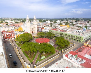 Campeche from above.