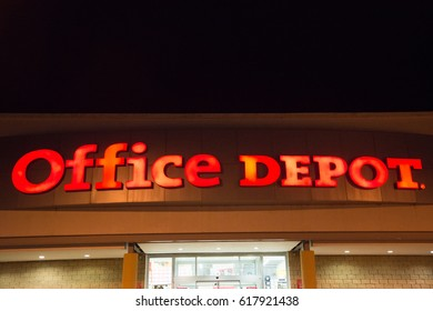 Office depot imgenes pagas y sin cargo y vectores en stock campeche mexico circa february 2017 office depot store exterior illuminated at night gumiabroncs Images