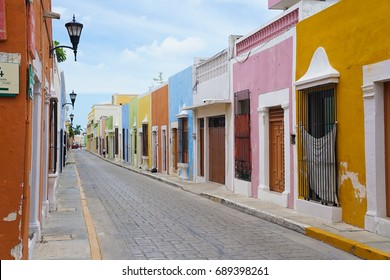 Campeche Old Town in Mexico - UNESCO World Heritage Site