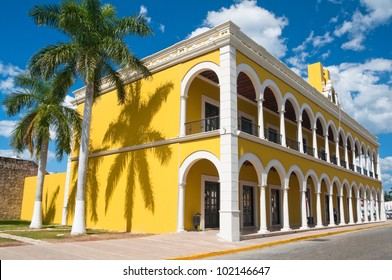 Campeche Public State Library, historical building (Mexico)