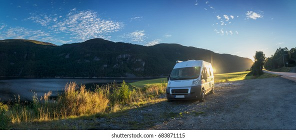 With the camper through Norway