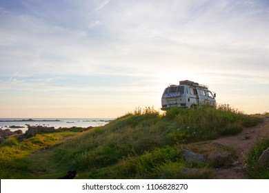 campervan in the morning