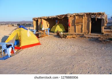 Campground in Bir Ali, between Shabwah and Mukalla, south yemen