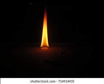 camphor Light Hindu Religion