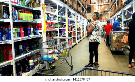 CAMPINAS, BRAZIL - MAY 27, 2019: several most viewed products from a supermarket in Campinas São Paulo Brazil