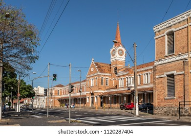Campinas, SP/ Brazil - June 24, 2018: 'Estacao Cultura' old train station that now is a cultural space in the city