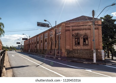 "Campinas, SP/ Brazil - June 24, 2018: ""Lidgerwood Manufacturing"" building. This was the first industry of the city, established in 1884."