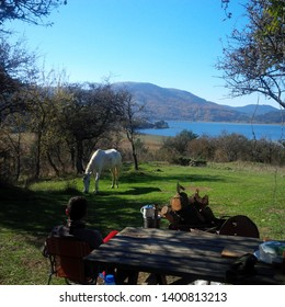 Camping in the Abant Lake / Abant-Bolu-Turkey