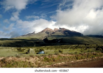 Camping at Cotopaxi - The Highest Active Volcano in the World