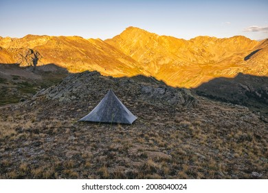 Camping in the Hunter-Fryingpan Wilderness, Colorado