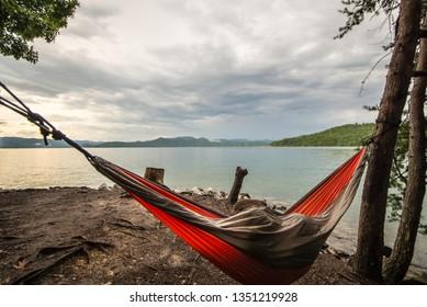 North Carolina Great Smoky Mountain Scenic Stock Photo (Edit