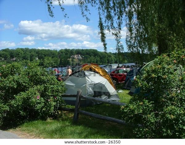 Camping in Saratoga, NY
