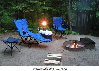 Camping Scene