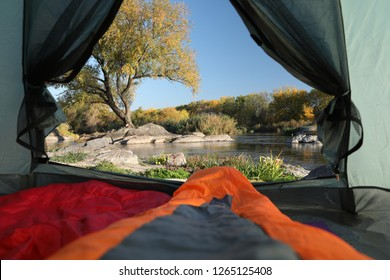 Camping Tent Inside Images, Stock Photos & Vectors