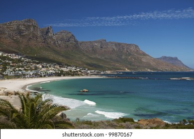 Camps Bay, Cape Town, South Africa  - Camps Bay is a popular beach resort close to the city of Cape Town