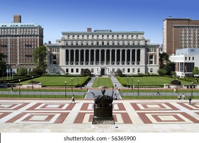 The campus of New York City's Columbia University, an Ivy League school.