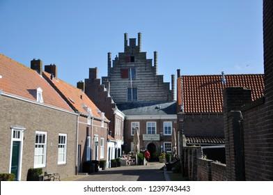 Campveerse tower in Veere