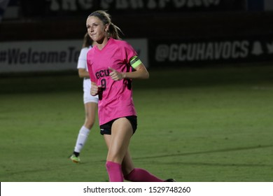 Camryn Larson forward for the Grand Canyon University Lopes at GCU Stadium in Phoenix, Arizona/USA October 10,2019.