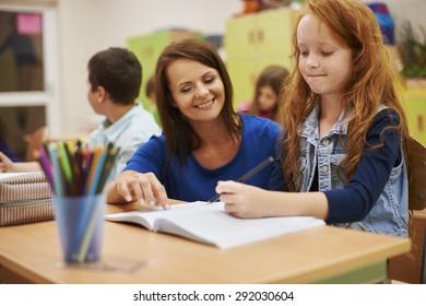 I can always count on my teacher