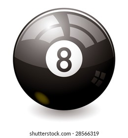 Can the eight ball tell the future maybe this one can