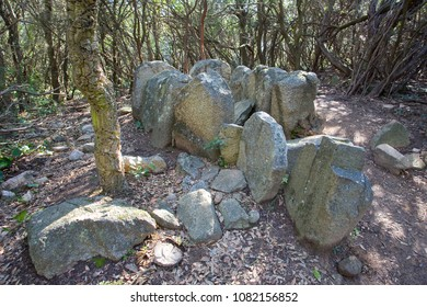 Can Gurri Dolmen, between Alella, Vallromanes and Martorelles, Barcelona, Spain. Eneolithic 2000 BC.