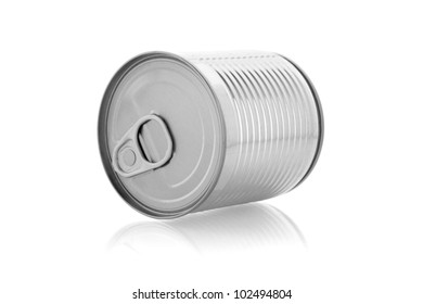 a can isolated on white background