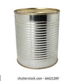 a can isolated on a white background