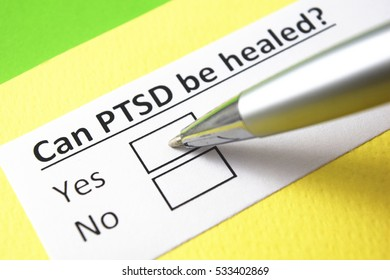 Can PTSD be healed? Yes
