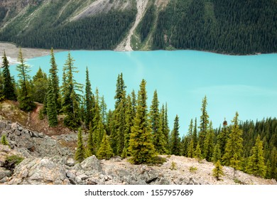 Canada, Banff National Park, Pyeto Lake