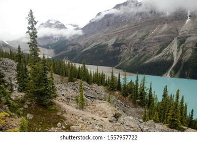 Canada, Banff National Park, Pyeto Lake