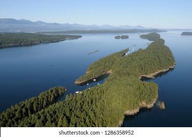 Canada, British Columbia, Gulf Islands, Wallace Island. Wallace Island Marine Provincial Park