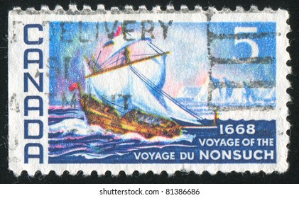 CANADA - CIRCA 1968: stamp printed by Canada, shows The Nonsuch, circa 1968