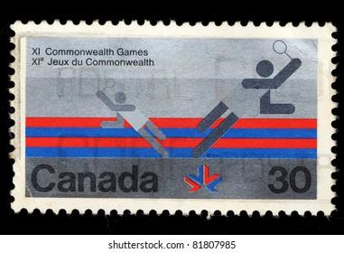 CANADA - CIRCA 1978: A stamp printed in Canada shows XI Commonwealth Games, circa 1978
