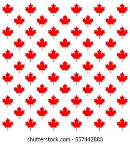 Canada country flag symbol Maple Leaf pattern