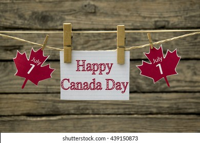 Canada day greeting card or background
