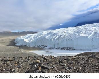 Canada Glacier Sky Taylor Dry Valley McMurdo