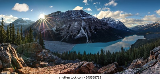 Canada. Lake. Awesome view