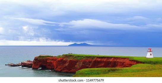 Canada, Province of Quebec, Îles de la Madeleine, Havre aux Maisons Island, Cape Alright