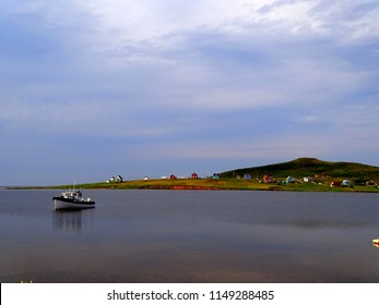Canada, Province of Quebec, Magdalen Island, Island of Havre aux Maisons, the small bay