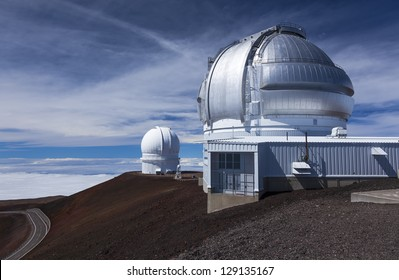 Canada-France-Hawaii Telescope and Gemini Telescope, Mauna Kea, Hawaii
