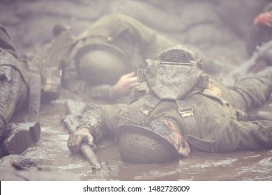 Canadian casualties on the Western Front.