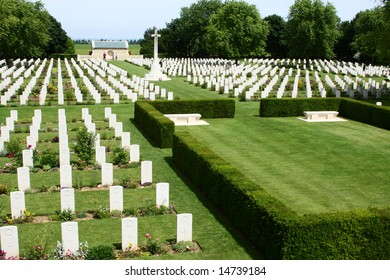 A canadian cemetary in Beny-Sur-Mer, France