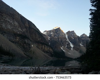Canadian Lake and Mountains